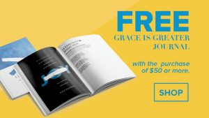 Grace Is Greater Journal Promotion