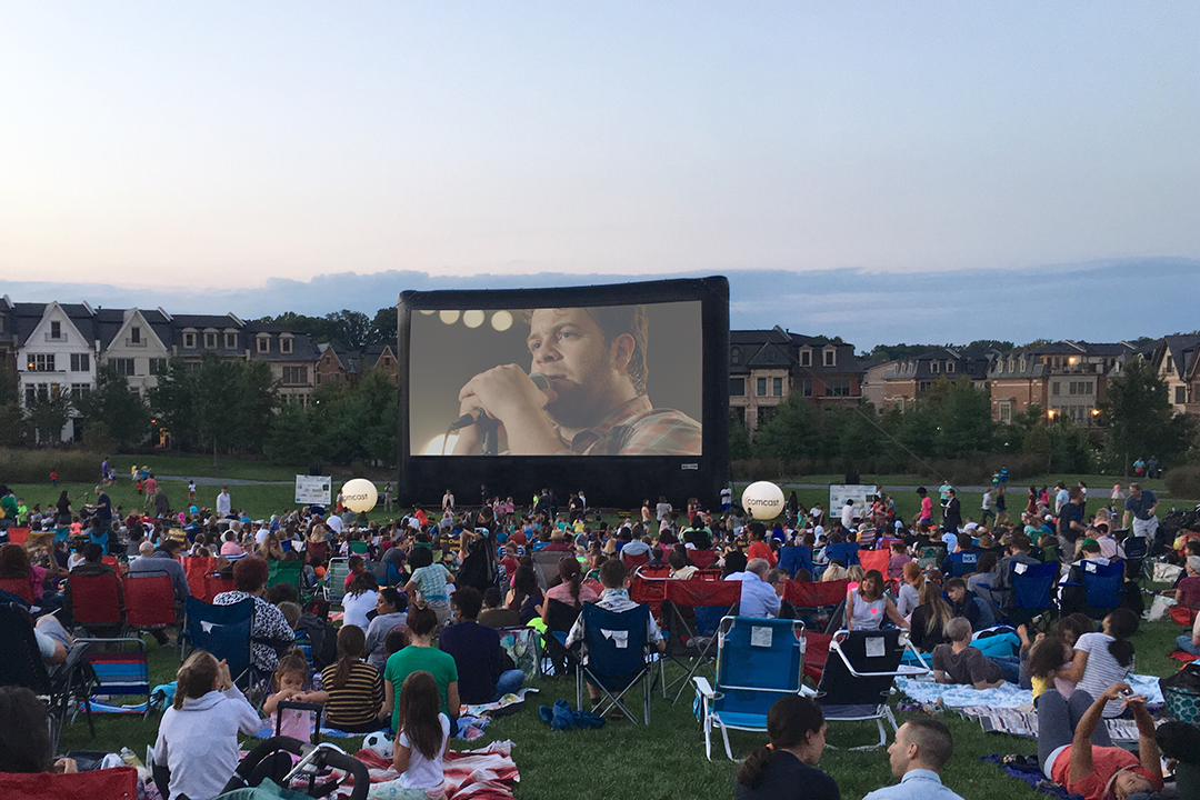 Church Movie Event on the lawn