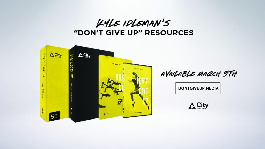 Don't Give Up Resources by Kyle Idleman