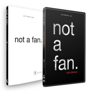 not a fan personal study kit by City on a Hill Studio